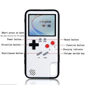 Image 5 - Игровой чехол Tetris Gameboy для iphone 12, 11 Pro Max, 7, 8, 6, 6S Plus, Ретро Чехол для консоли Game Boy для iphone XS, Max, XR, X, SE, чехол
