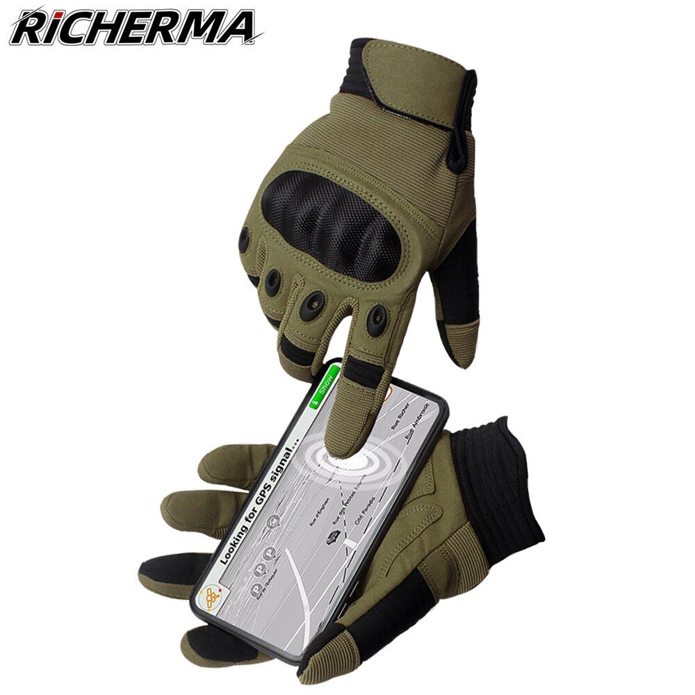 Hand Protective Motorcycle Gloves Men Phone Touchscreen Motocross Gloves Military Shooting Workout Tactical Army Gloves Women