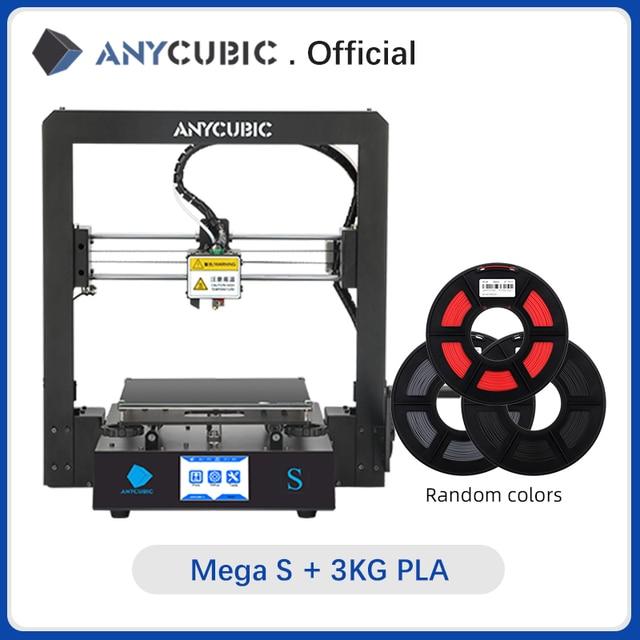 Anycubic Mega S Mega S 3d Printer I3 Mega Upgrade Large Size Tpu High Precision Touch Screen Diy 3d Printer Kit Impressora 3d 3d Printers Aliexpress