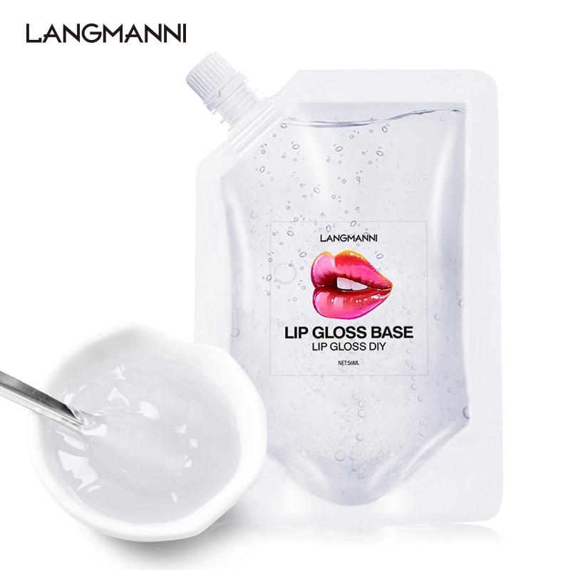 DIY Clear Lip Gloss Base Oil DIY Moisturizing Lipstick Material Base Gel For Lip Gloss Base Handmade