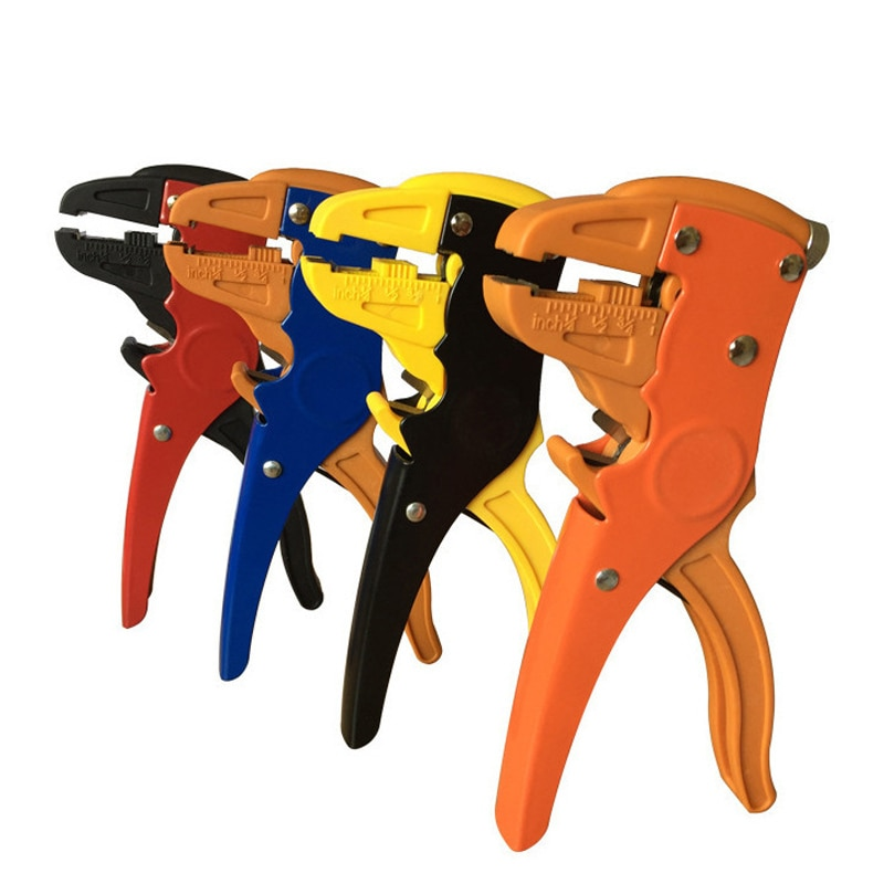 Stripping Pliers Automatic 0.25-5.5mm Cutter Cable Scissors Wire Stripper HS-700D Tool Multitool Precision High Quality