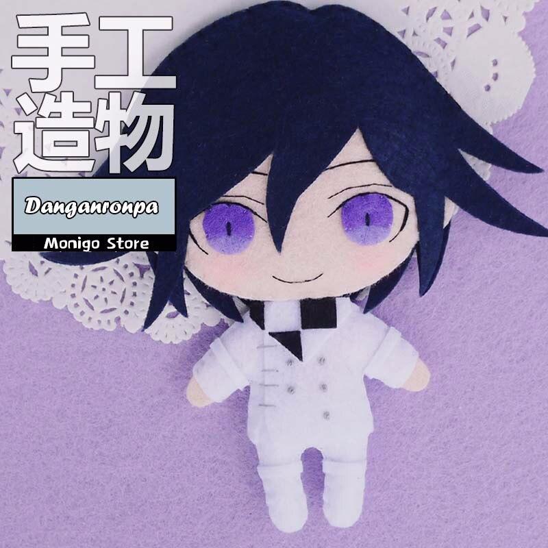 Anime Danganronpa V3 Ouma Kokichi DIY Handmade Toy Stuffed Plush Keychain Materials Cosplay Prop Collection