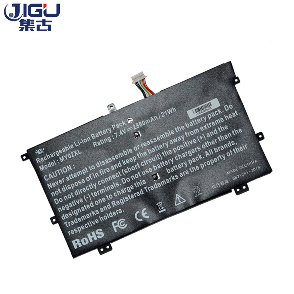 JIGU Laptop Battery For HP MY02XL 722232-001 HSTNN-DSB5C MY02021XL TPN-Q127 For Pavilion 11-h000sg 7