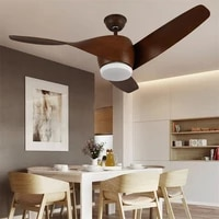 ory modern ceiling light with fan remote control 3 colors led for living room dining room restaurant