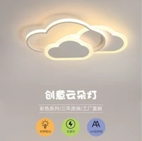 new led childrens room ceiling lamp light nordic cloud ceiling lamp ins girl cartoon boy girl bedroom deco light fixure