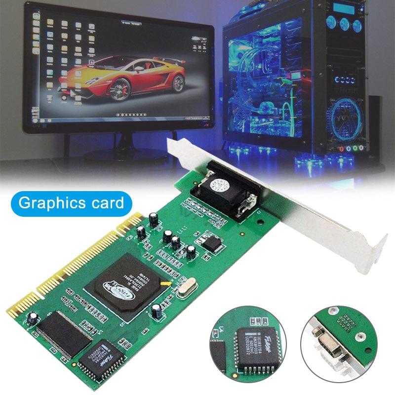Ordenador de escritorio CPI tarjeta gráfica ATI Rage XL 8MB tarjeta de vídeo VGA PC accesorios @ M23