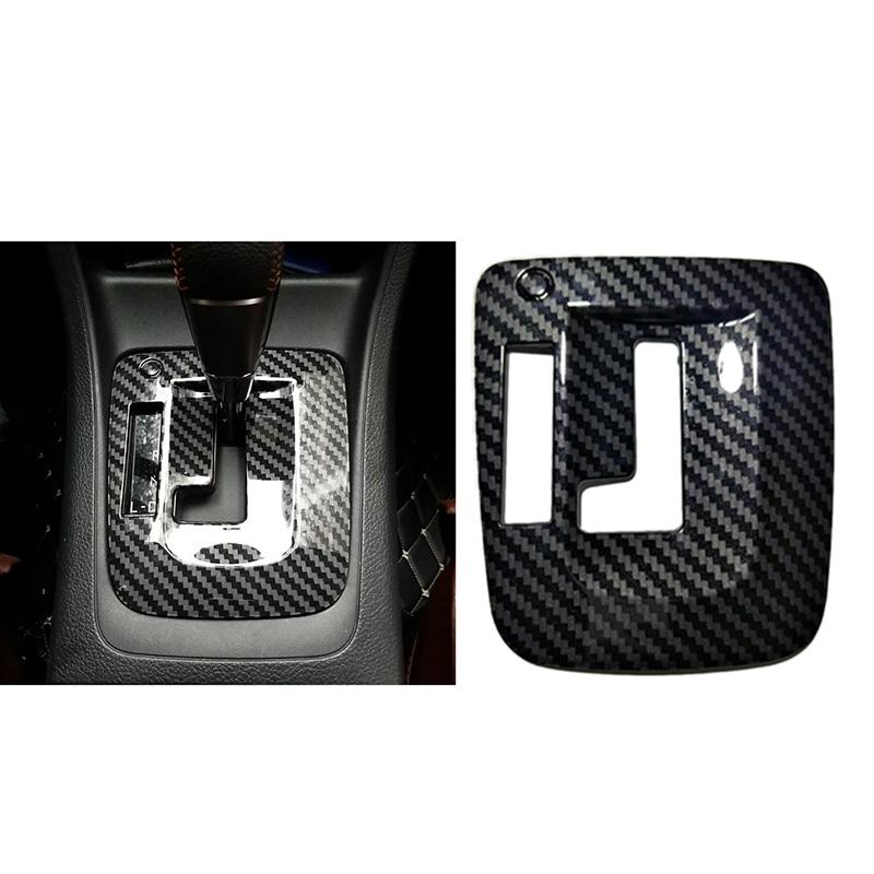 ABS Interior Car Gear Shift Knob Panel Cover Sticker Trim Moldings Car Styling Auto Parts for Subaru
