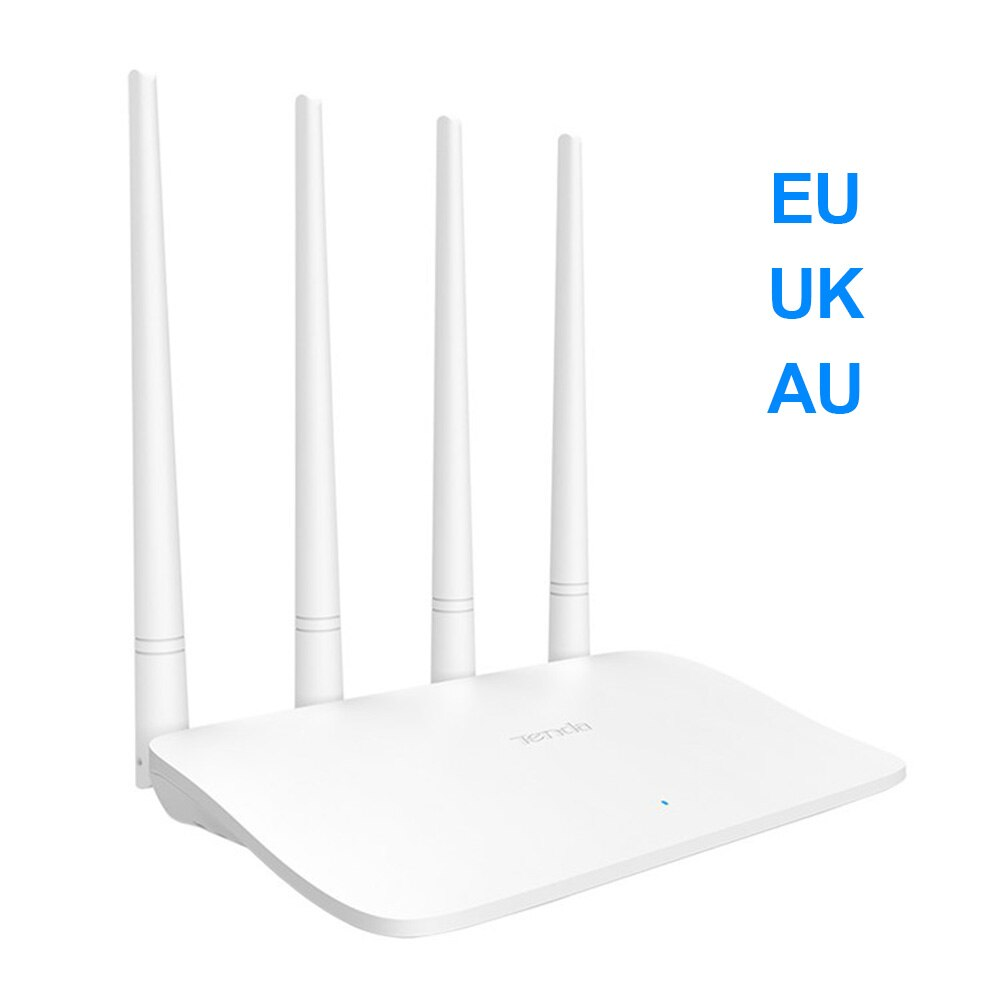 Tenda F6 Wireless Router AC1200 Router WIFI Repeater With 4 High Gain Antennas Wider Coverage Easy Set Up 300mbps 2.4GHz