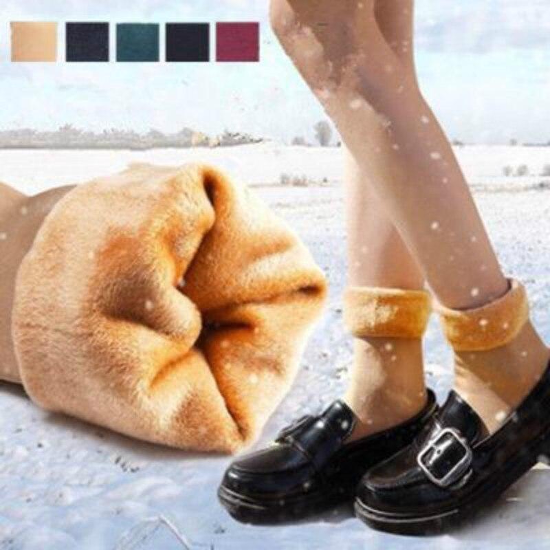 Зимние утолщенные теплые короткие Дышащие носки шерстяные носки зимние сапоги однотонные носки шерстяные кашемировые домашние зимние сап...