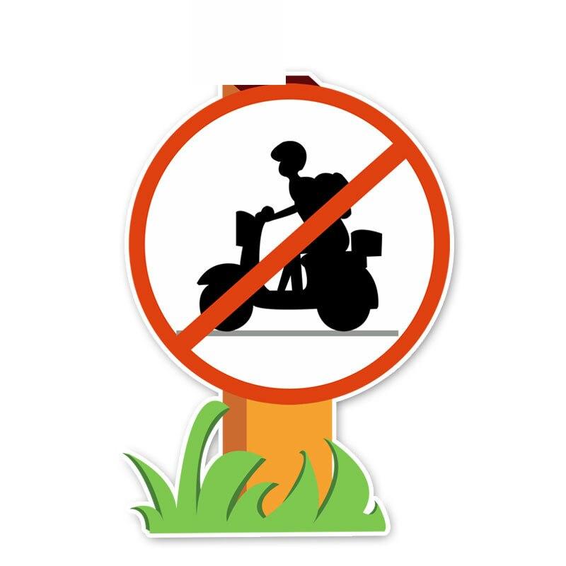 Автомобильные наклейки запрещено электрический автомобиль Предупреждение знаки Лепка украшение наклейки для автомобиля из ПВХ Водонепро...