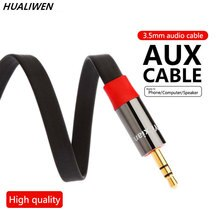 3.5mm Jack Audio Cable Jack 3.5 mm Male to Male Audio Aux Cable For  Car Headphone Speaker Cable