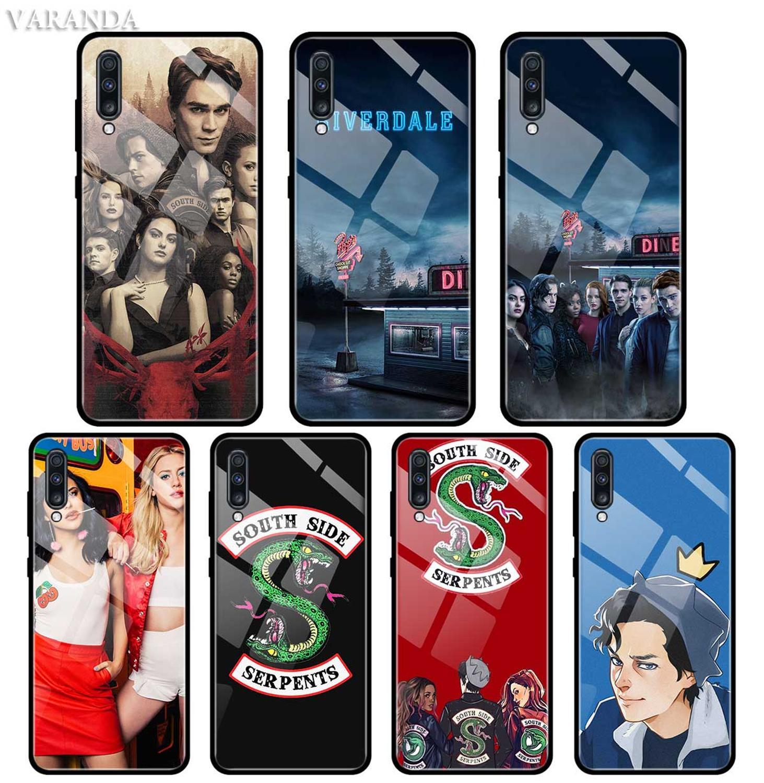 Riverdale TV caso para Samsung A50 A40 A70 A71 A51 A30 A10 A10S A20S M30S J4 J6 Plus de templado de vidrio de cubierta del teléfono