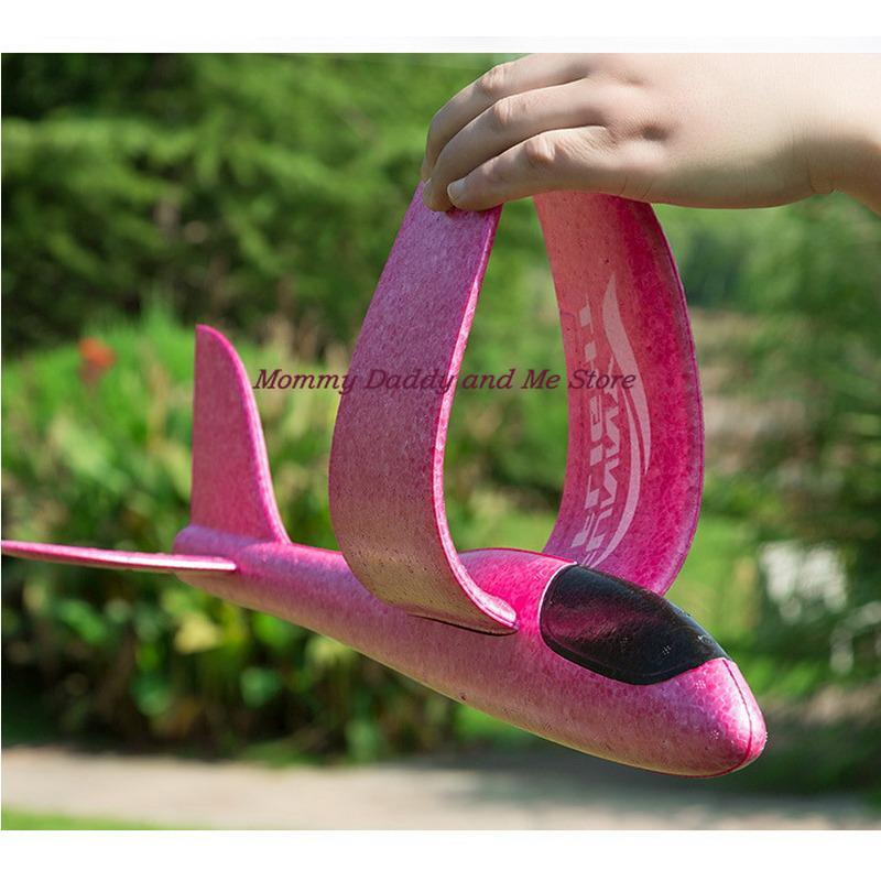10pcs/lot Foam Material Hand Throw Plane Outdoor Launch Glider Children's Gift Model Toy 48 Cm Fun Children's Helicopter Toys enlarge