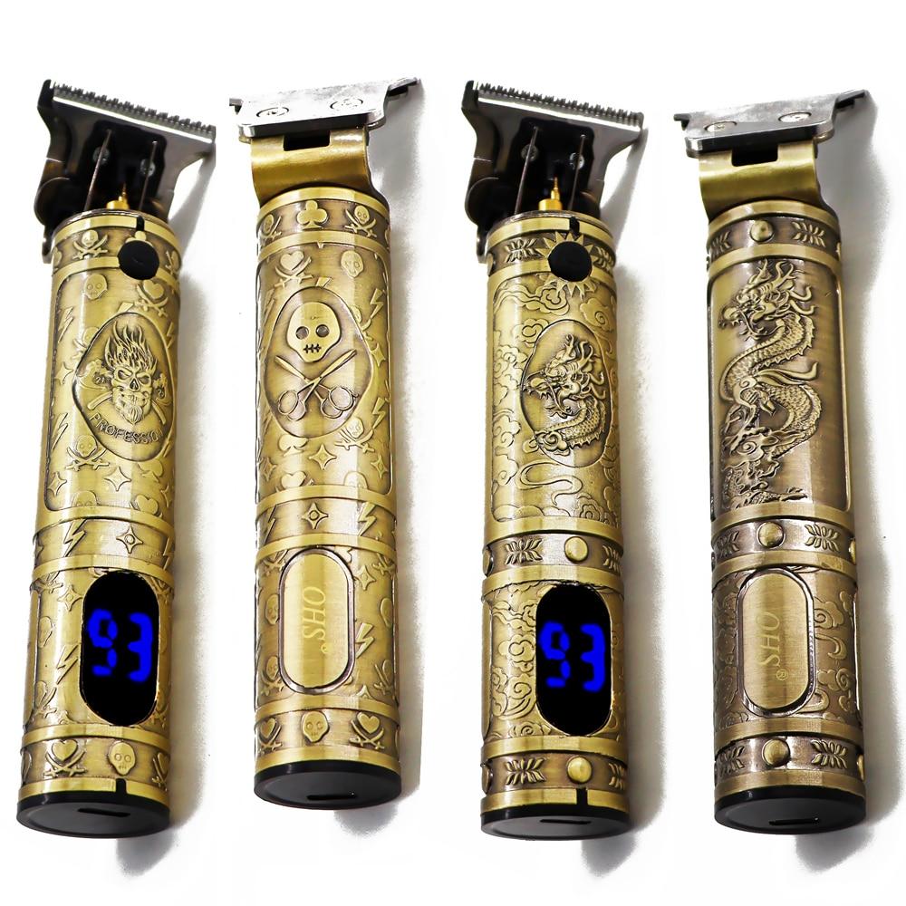 2021 USB Electric Hair Clippers Rechargeable Shaver Beard Trimmer Professional Men Hair Cutting Machine Beard Barber Hair Cut