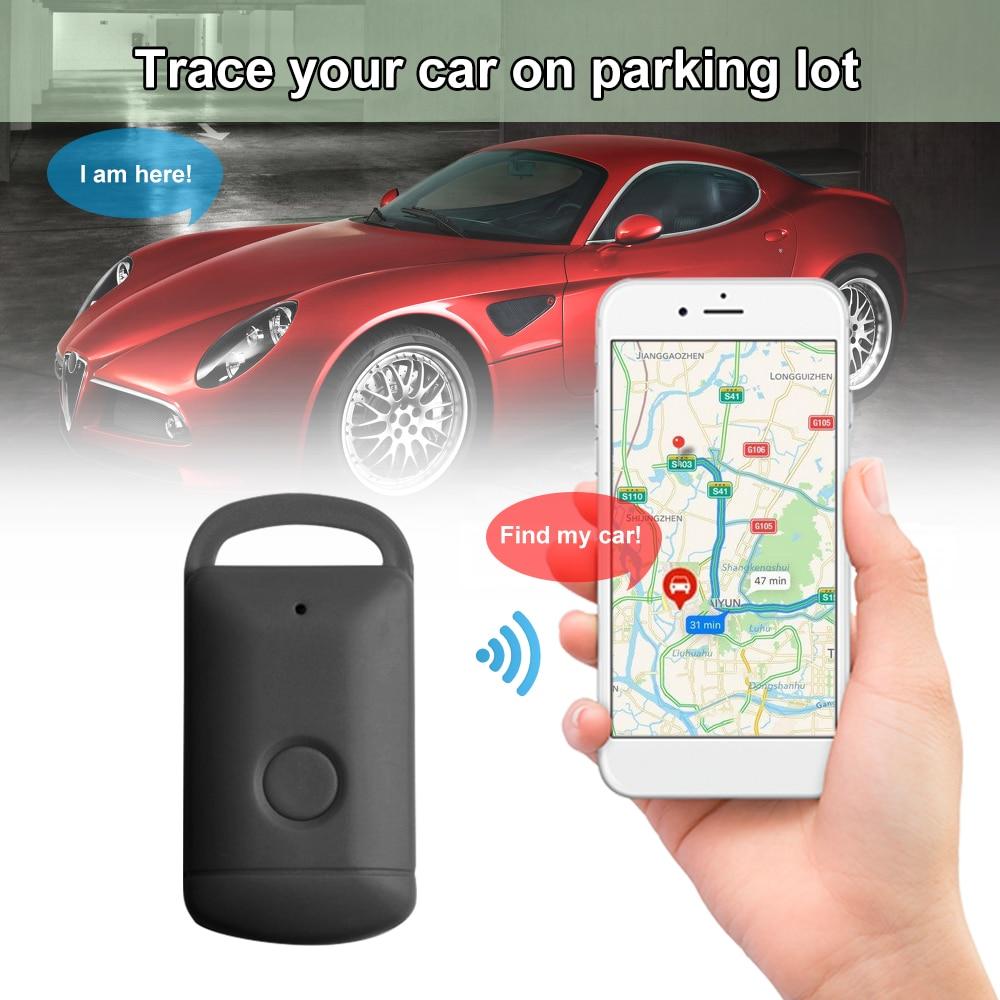 KKMOON GPS Locator Anti-Lost Keyfinder Wallet Pet kids Smart Alarm itag Bluetooth Tracker Tag Device Tracer keychain tracker
