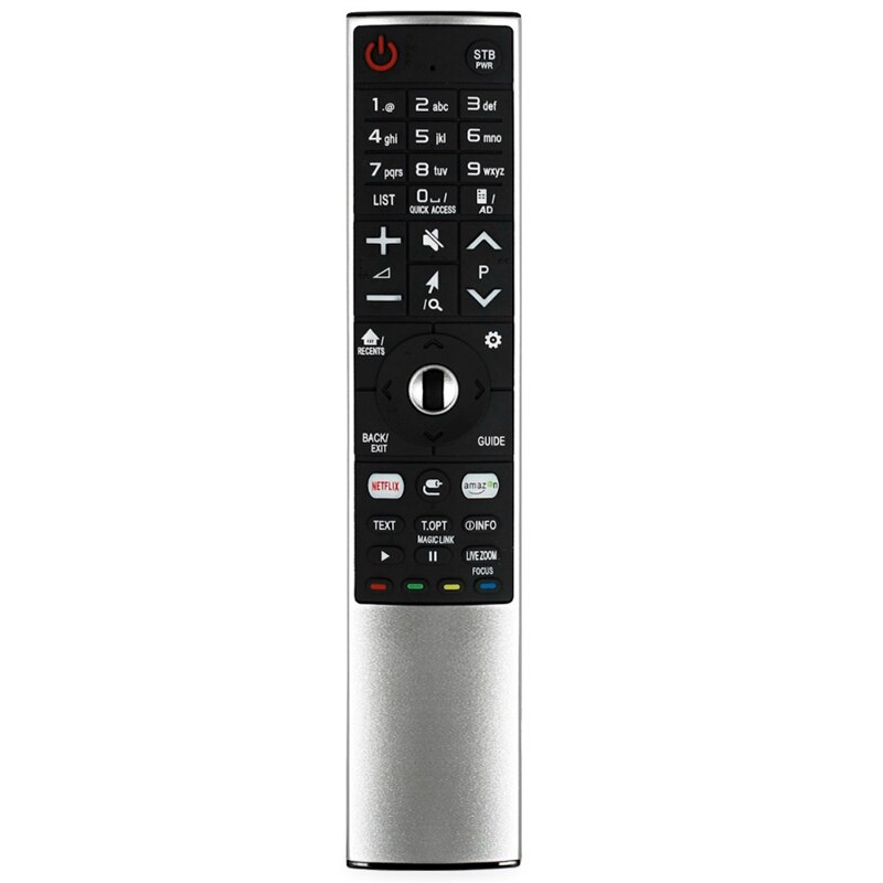 BESTSmart Control remoto para LG Smart TV MR-700 AN-MR700 AN-MR600 AKB75455601 AKB75455602 OLED65G6P-U con Netflx