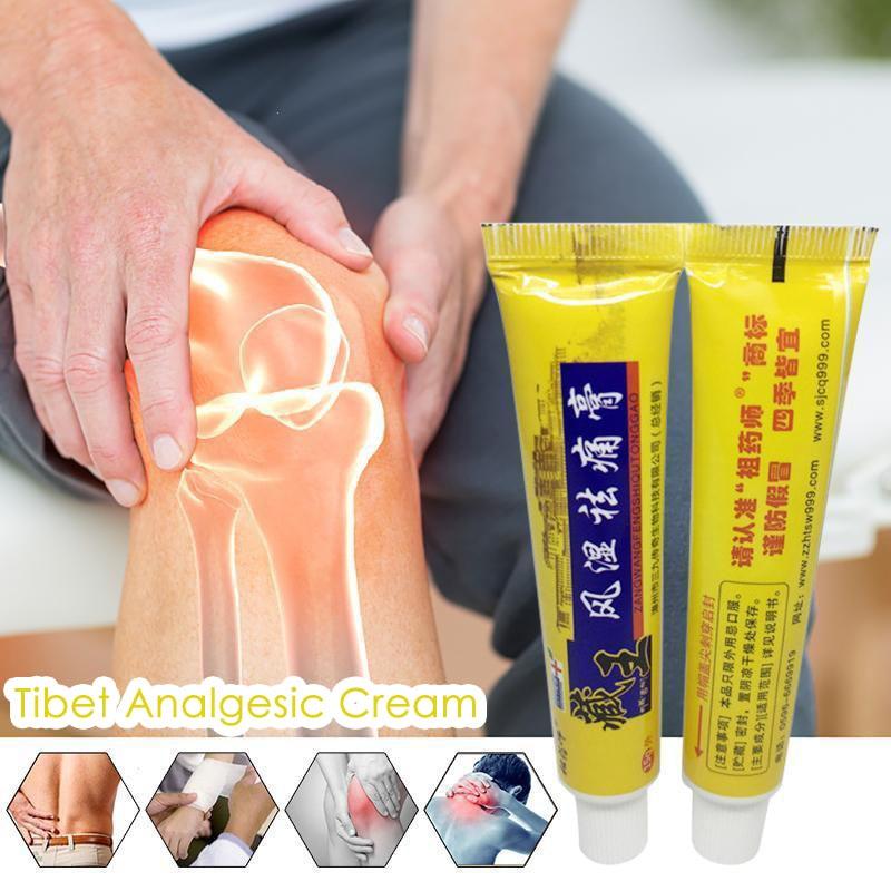 Tibet Analgesic Cream Treat Rheumatoid Arthritis joint Pain Back Pain Relief Analgesic Balm Ointment Herbal Cream Plaster