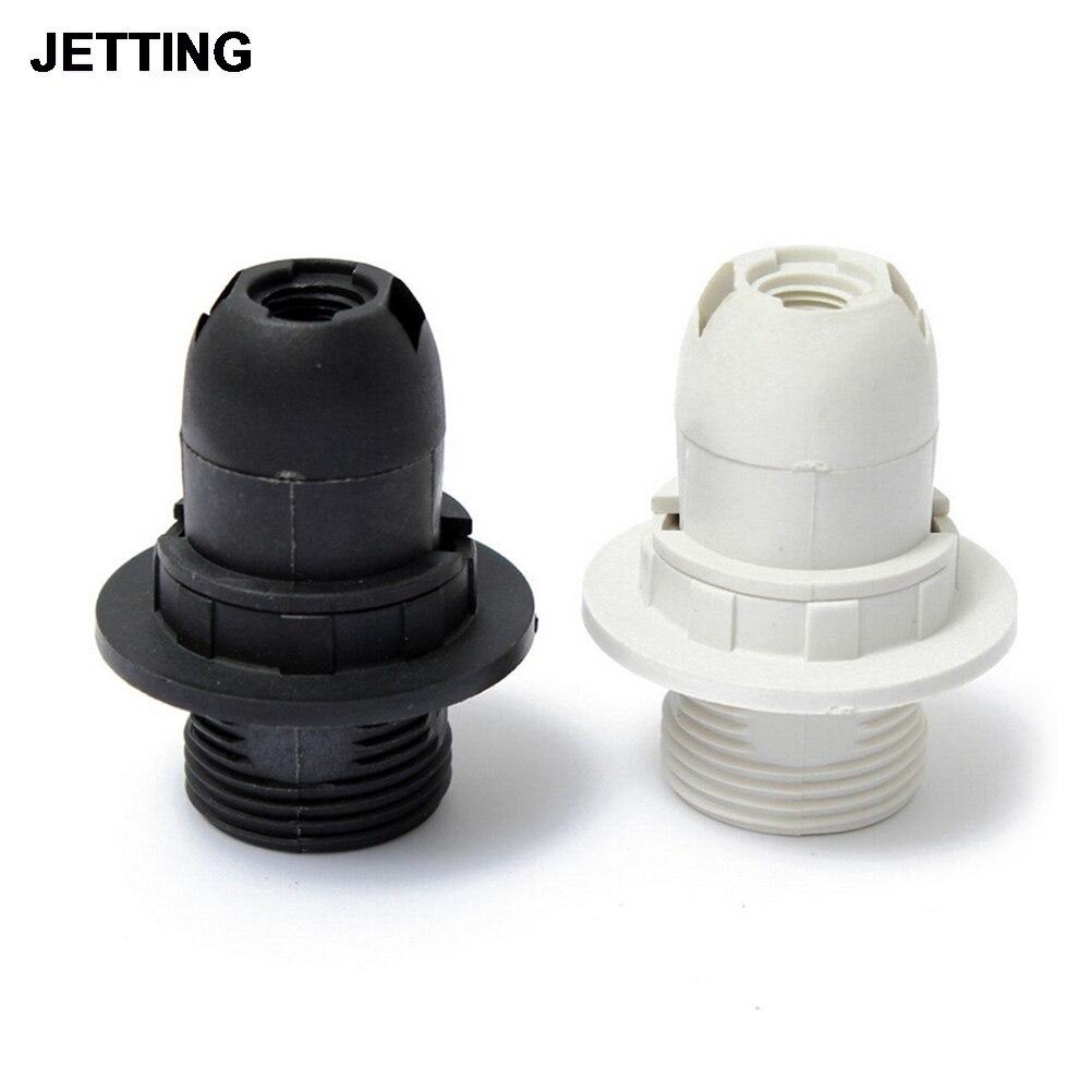 O novo edison parafuso es e14 m10 lâmpada de luz titular pingente soquete & abajur colar alta qualidade