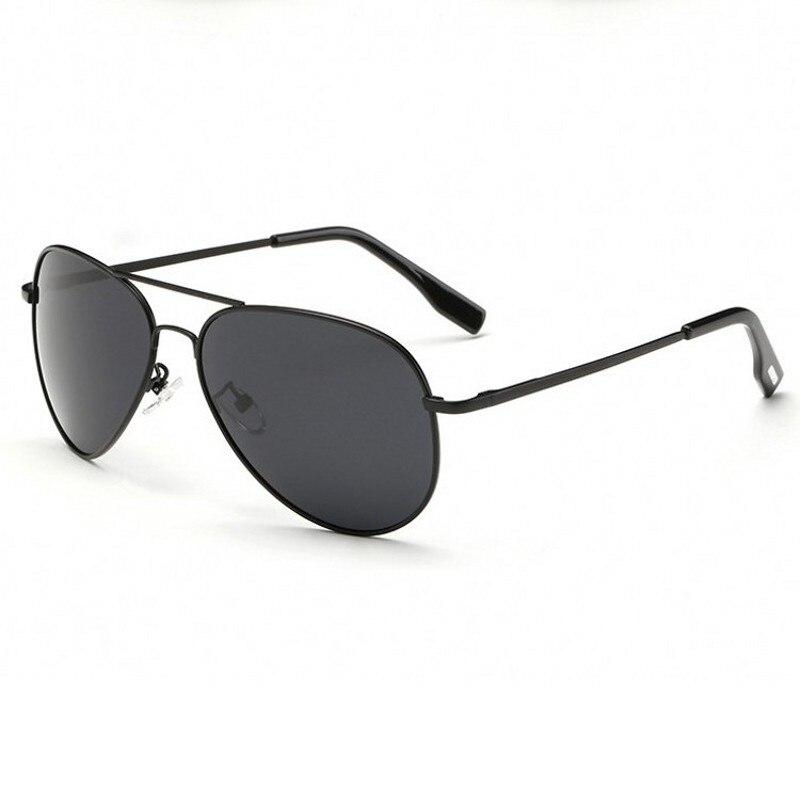100% Polarized Sunglasses Men Women Brand Designer Aviation Sun Glasses For Male Female Black Eyewea