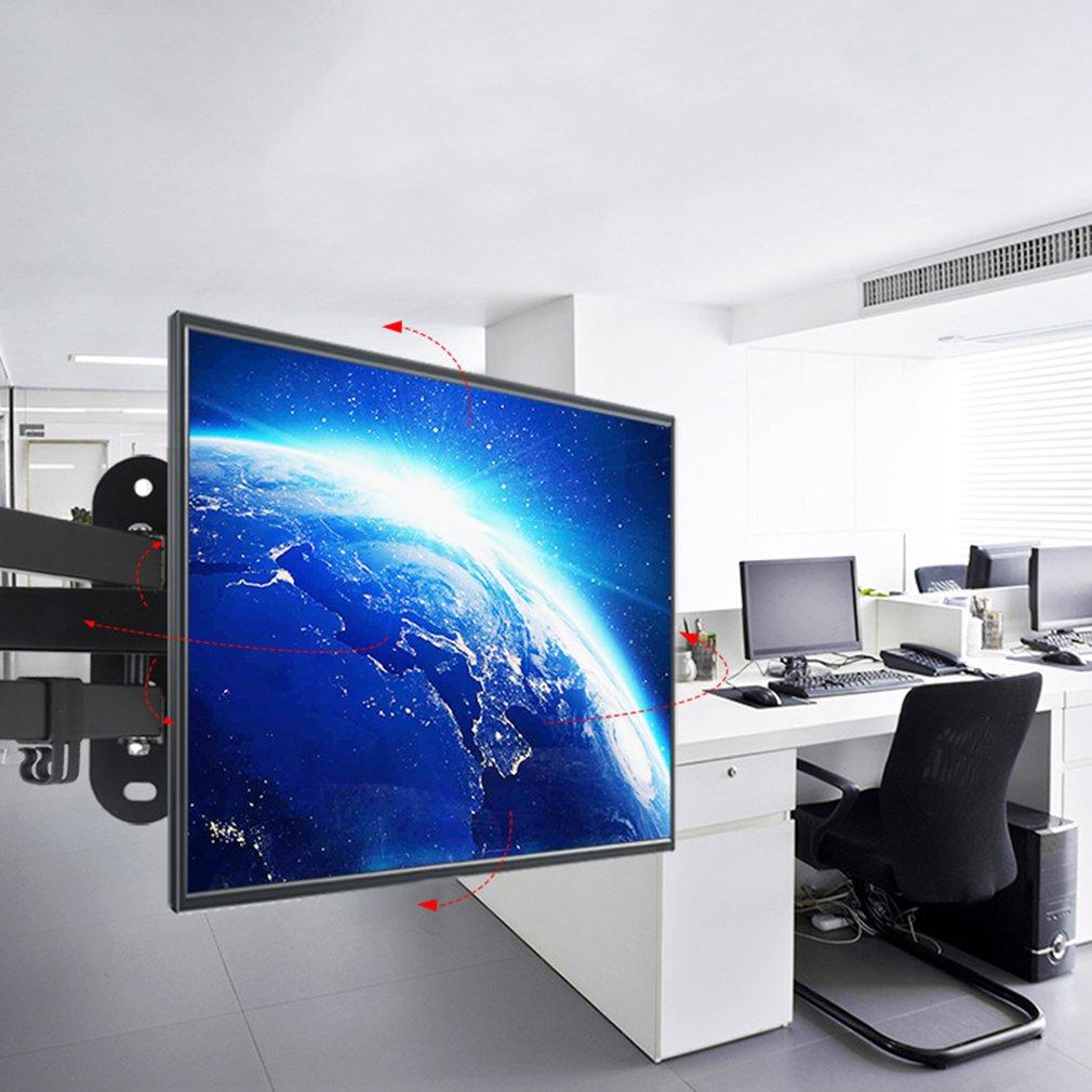 "Soporte De Pared Para Tv Lcd Led Plasma Giratorio 14 ""a 27"" Inclina 15 grados De Soporte De Monitor De computadora"