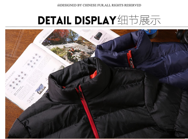 Новинка 2021, брендовая зимняя куртка, Мужская модная куртка с воротником-стойкой, Мужская однотонная Толстая куртка, Мужская зимняя куртка