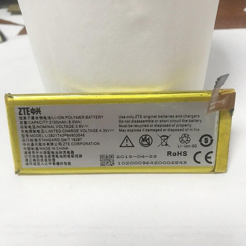 2100mAh LI3821T43P6H903546 Battery for ZTE Q505T for ZTE UFi MF970 MF980 LTE Cat 6 2100mAh newest 100% original ufi dongle ufi dongle work with ufi box worldwide version