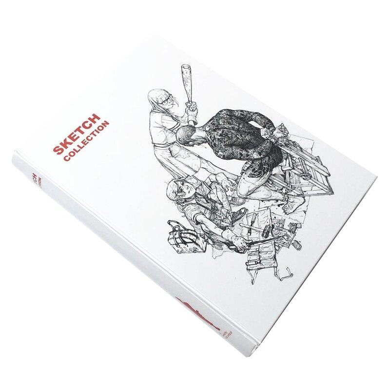Libro de colección de bocetos de Kim jung-gi 2011, libro de dibujo de líneas para bocetos de obras de Kim JungGi