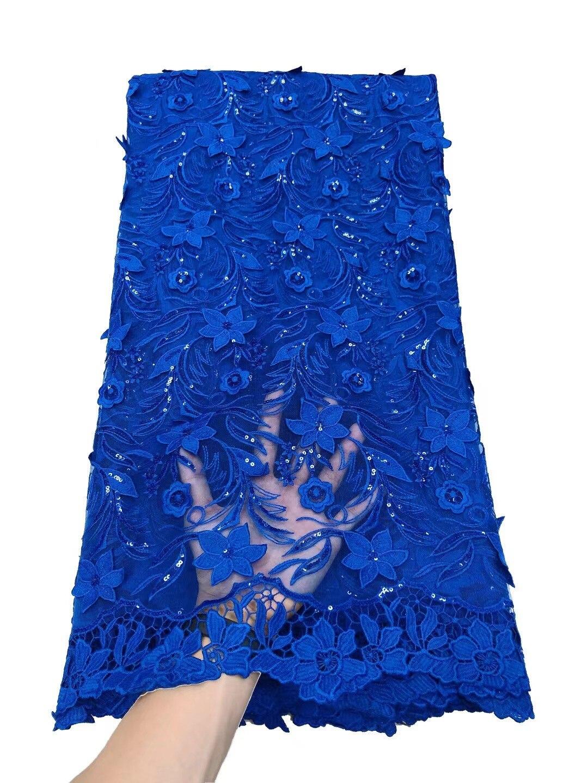 PGC الأفريقي الترتر أقمشة الدانتيل 2021 شمسيّة دانتيل عالية الجودة الفرنسية النيجيري أقمشة الدانتيل للعروس حفل زفاف فستان الخياطة NI5672-6