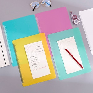 Colorful Writing Pad Paper Holder Flexible Anti-slip Painting Drawing Board Tool for Students Office AC889