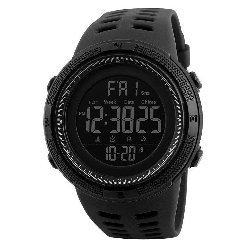 Esportes ao ar Relógio à Prova Indicação de 24 Livre Relógio Eletrônico Multifuncional Masculino Estudante Dwaterproof Água Luminosa Semana Alarme Contagem Regressiva Horas