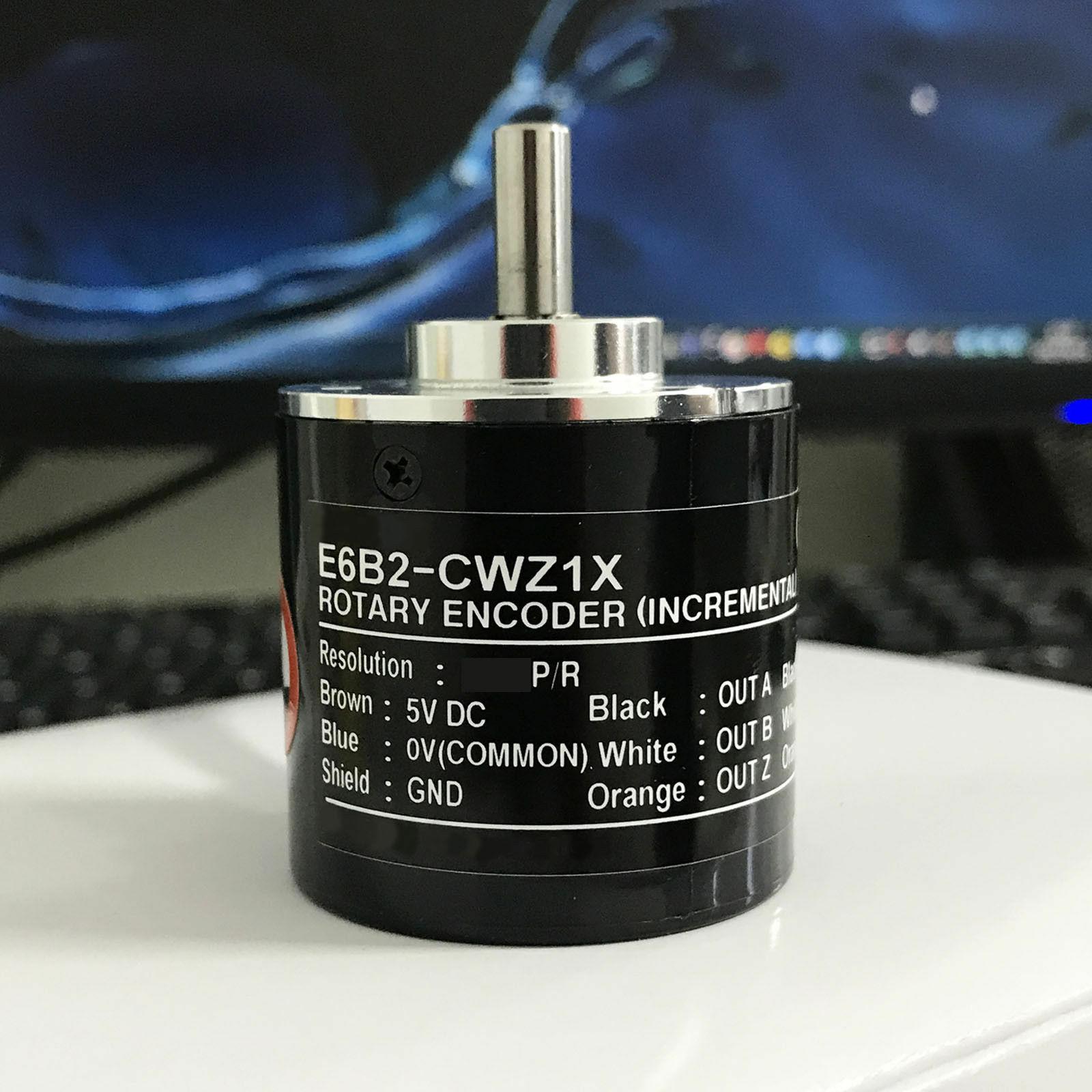 E6B2-CWZ1X التزايدي بصري الروتاري التشفير مفتاح دوار 30P/R إلى 2500P/R
