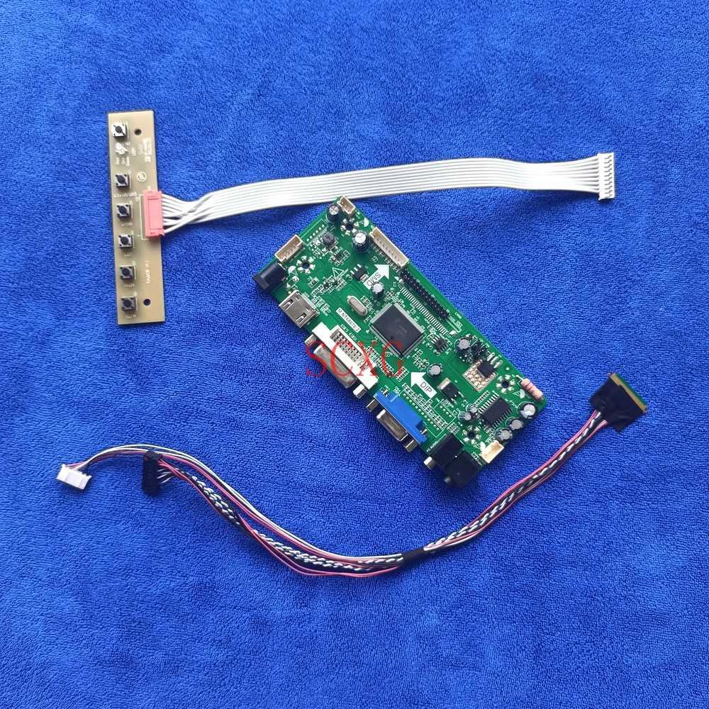 1920*1080 MNT68676 لتقوم بها بنفسك عدة LVDS 40 دبوس صالح LP156WF4/LP156WFC شاشة الكريستال السائل محرك تحكم مجلس HDMI-متوافق DVI VGA 60Hz LED