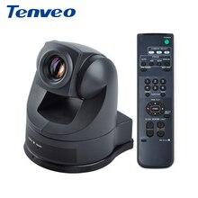 Tenveo V48U 18X Zoom sortie vidéo USB AV/S-vidéo conférence panoramique inclinaison zoom caméra intégrée pour SONY mouvement SD caméra vidéo