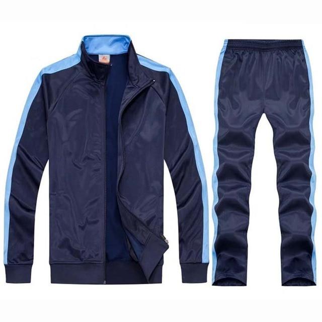 2021 модная спортивная одежда мужской спортивный костюм на молнии Спортивная куртка спортивные штаны для бега Мужская спортивная одежда спо...