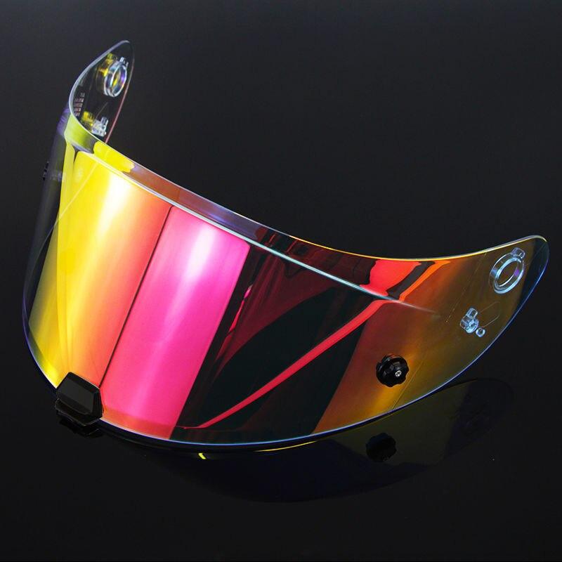HJ-31 دراجة نارية خوذة لكامل الوجه قناع عدسة الحال بالنسبة ل fjc I70 / i10 قناع قناع 8 ألوان الذهب الإيريديوم