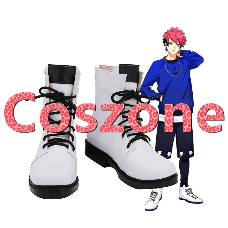 A3! Nanao taichi cosplay sapatos botas halloween carnaval cosplay acessórios de traje