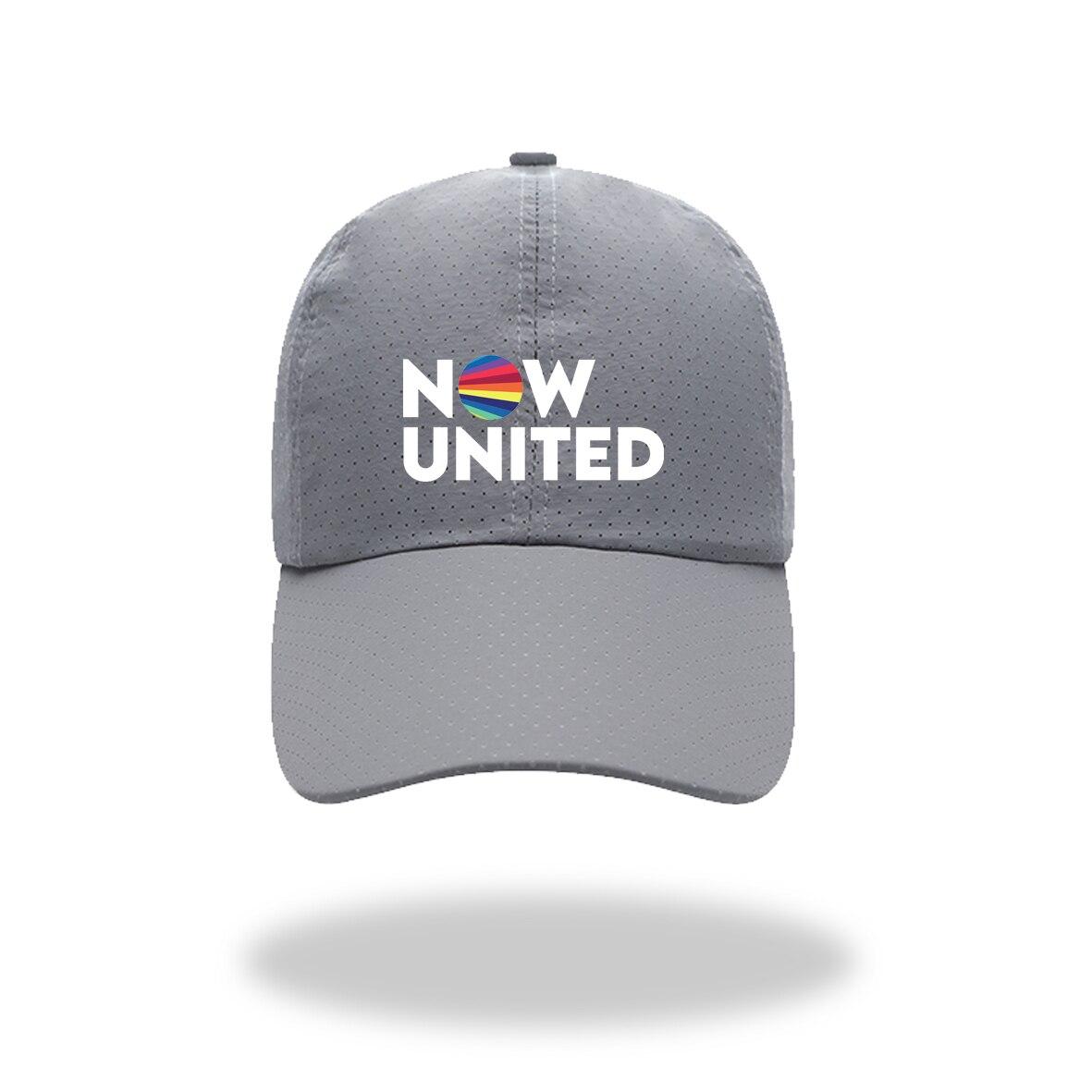 Теперь Объединенная Модная женская кепка с козырьком, Женская фатиновая Кепка для мужчин, уличные солнцезащитные кепки унисекс, кепки, кепк...