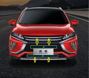 for Mitsubishi Eclipse Cross 2018-2020 Car Styling Car front hood water tank protection net insect net