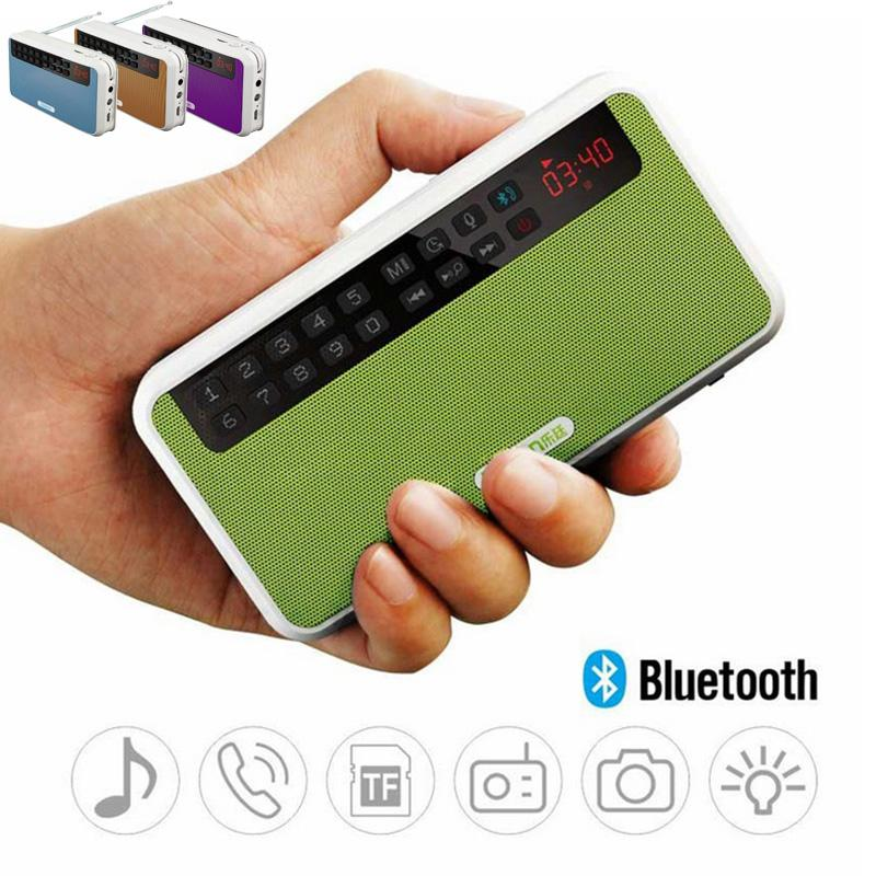 Rolton E500 altavoces estéreo portátiles Bluetooth FM Radio bajo claro altavoz de doble pista TF tarjeta USB reproductor de música
