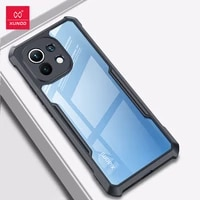for xiaomi mi 11 xundd shookproof protective phone case with airbag bumper technology transparent shellfor xiaomi 11 pro case