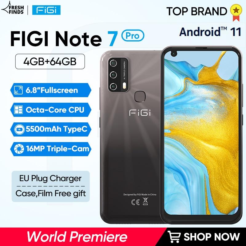 [Estreno mundial] FIGI Nota 7 Pro teléfonos inteligentes Octa Core CPU 5500mAh...
