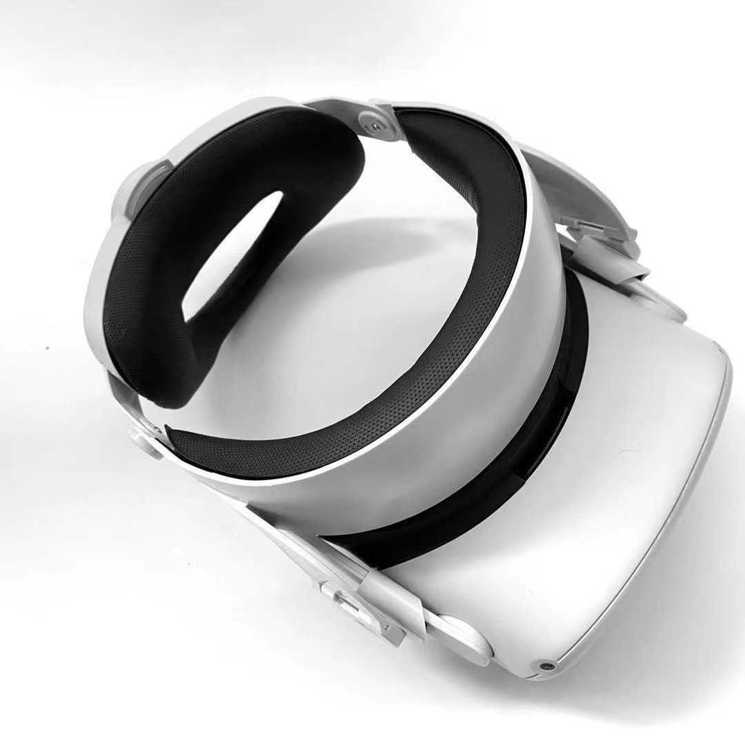 2021 Head Strap for Oculus Quest 2 Strap Improve Plate Elite Strap Replacement Supporting Force Improve Comfort enlarge