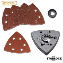 30% off  Sanding paper and Triangular sanding pad suit for Starlock oscillating power tool machines Fein Dremel Multi Tools
