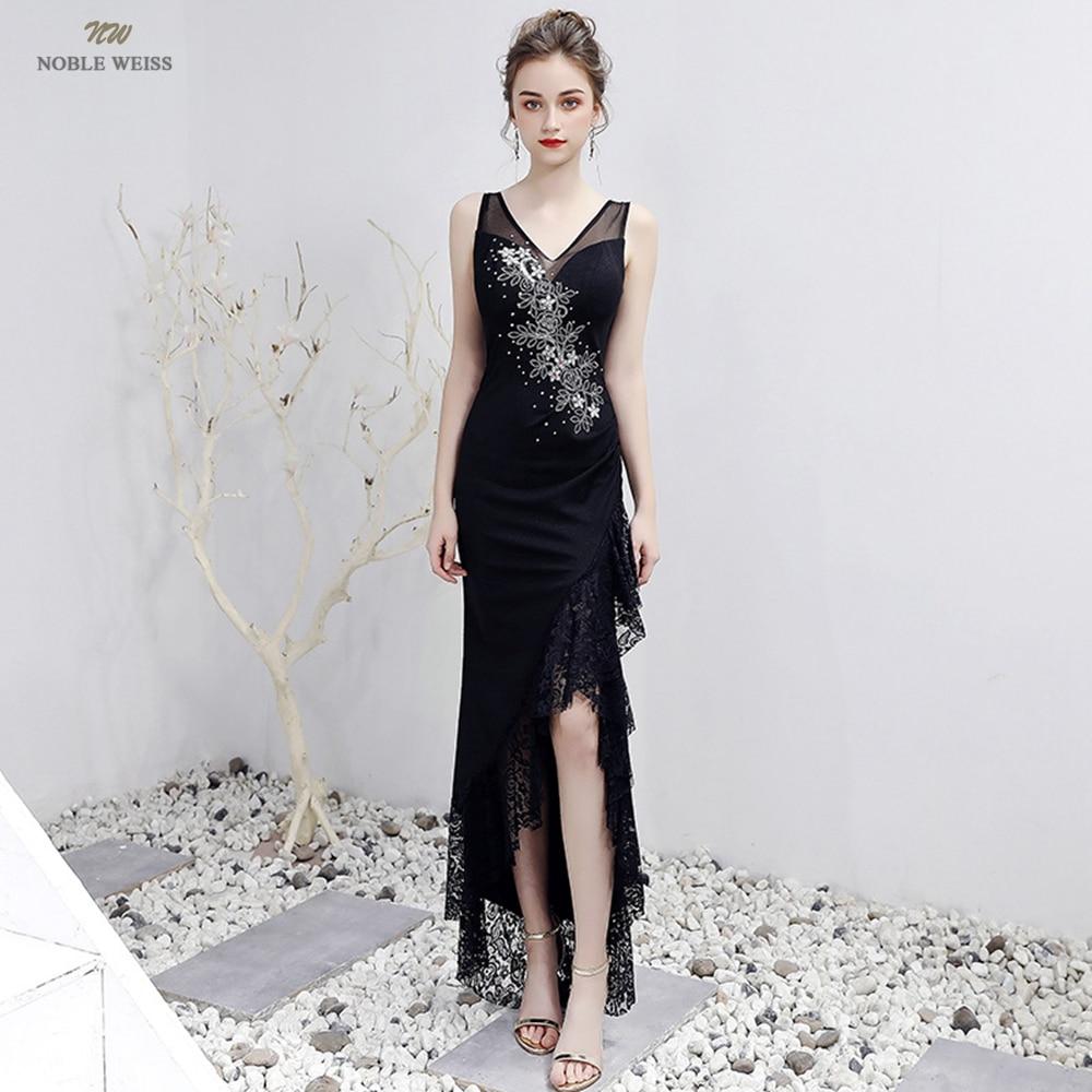 فساتين سهرة نسائية ، ياقة على شكل v ، زينة ، فستان كوكتيل