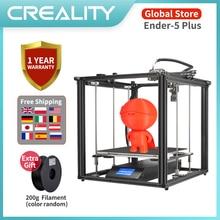 CREALITY 3D Ender-5 Plus 3D Drucker Touch Screen 350*350*400MM Lebenslauf Print Filament Sensor Mit BL touch Nivellierung