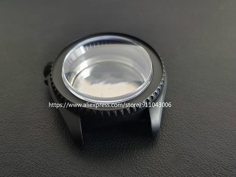 Seikomod-علبة ساعة عالية الجودة ، فضي ، أسود ، معدل ، نمط غواصة خاص ، 42 مللي متر ، SKX007