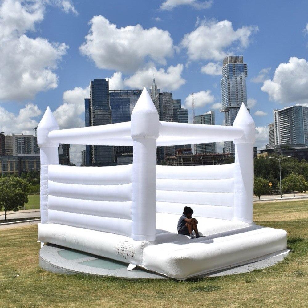 castelo bouncy bouncy do salto do castelo do casamento da casa branca do salto do