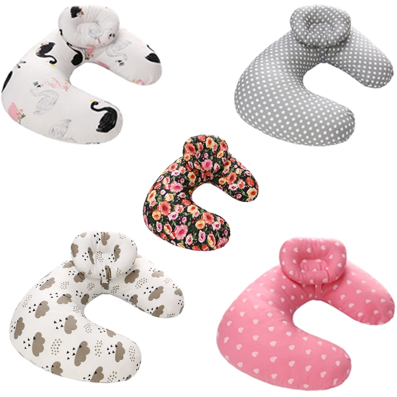 Baby Nursing Breastfeeding Maternity Pillow U-shaped Newborn Care Slipcover Support Feeding Cushion Head Cover