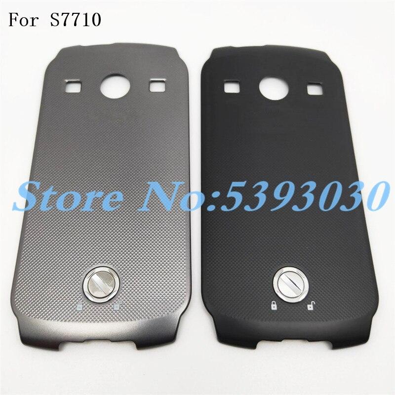 Batería Original cubierta de la puerta para Samsung Galaxy Xcover 2 S7710 vivienda batería cubierta trasera caso