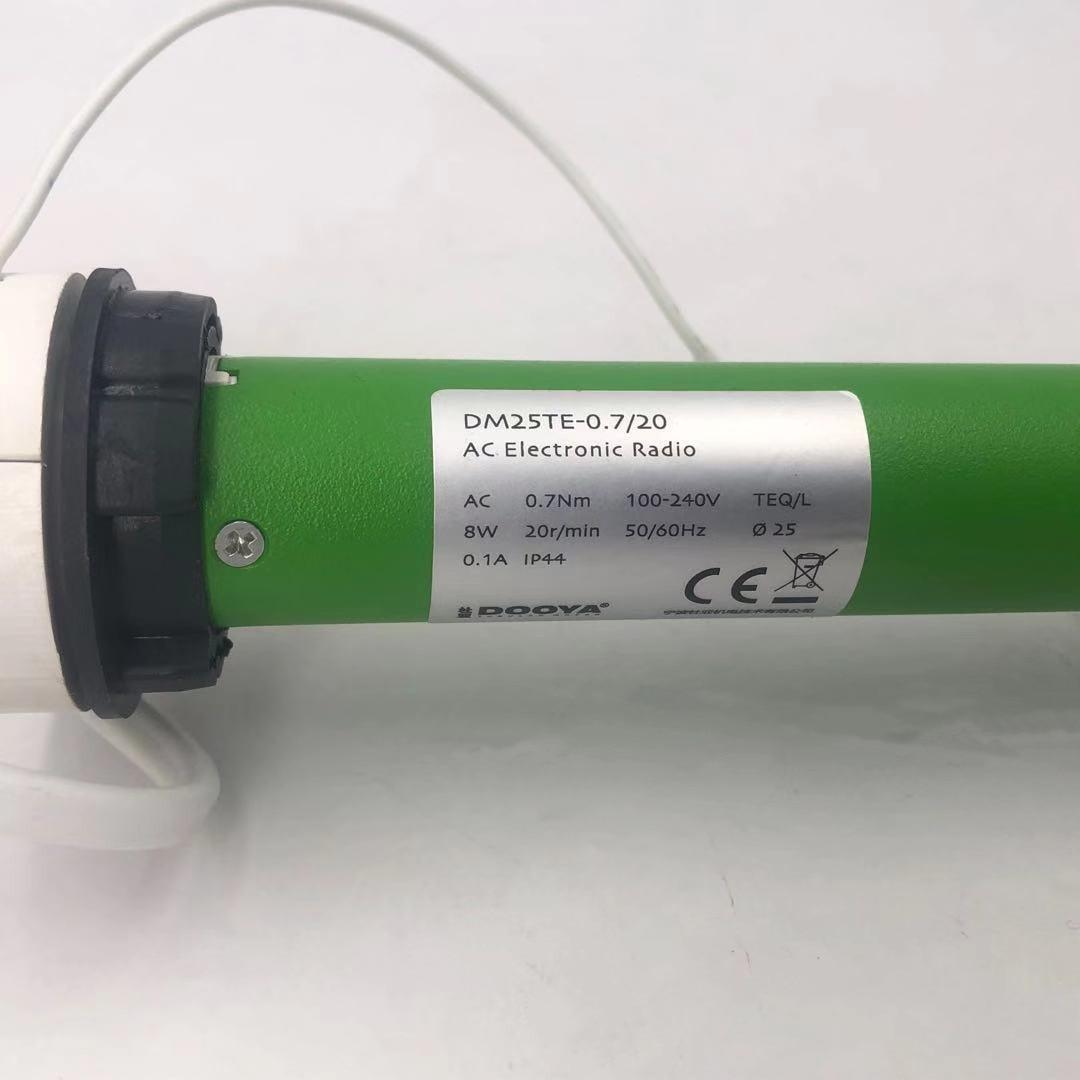 شحن مجاني Dooya DM25TE نافذة يمكن طيها ولفها زيبرا الستائر أنبوبي موتور ل 38 مللي متر أنبوب RF433MHZ 100 فولت-240 فولت
